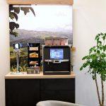 Installation cafémöbel
