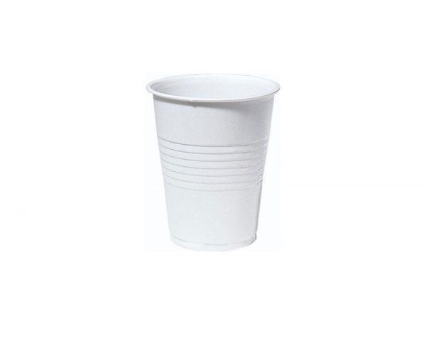 vit-plastbägare