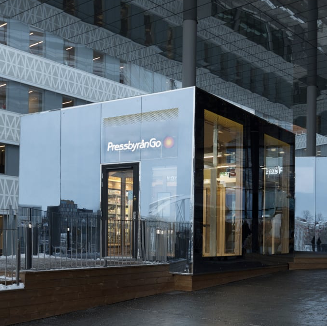 Pressbyrån öppnar obemannad butik